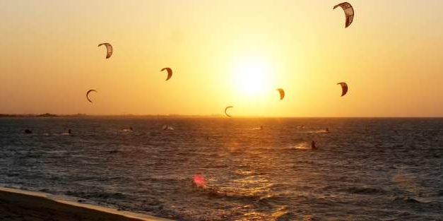 Campeonato de Kitsurf no Brasil